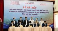 Ký hợp đồng BOT Dự án cao tốc Cam Lâm - Vĩnh Hảo trị giá 8.925 tỷ đồng