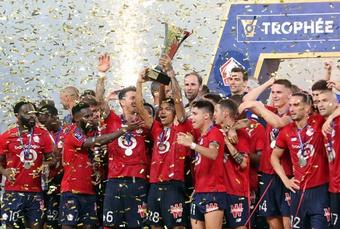 Hạ bệ PSG, Lille đoạt Siêu cúp Pháp 2021