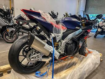 Xe mô tô Aprilia RSV4 Factory đầu tiên cập bến Việt Nam