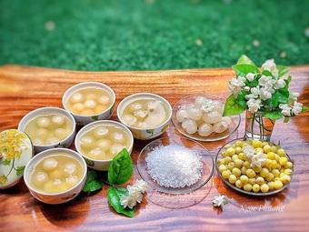Nhãn vào mùa, học ngay cách làm món chè sen long nhãn bổ dưỡng giải nhiệt