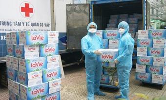 Nestlé Việt Nam hỗ trợ 450.000 sản phẩm cho các tỉnh, thành phố phía nam phòng chống dịch