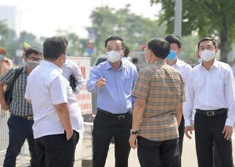 Chủ tịch Hà Nội yêu cầu kiểm tra thực hiện giãn cách ở tất cả các cơ quan, đơn vị