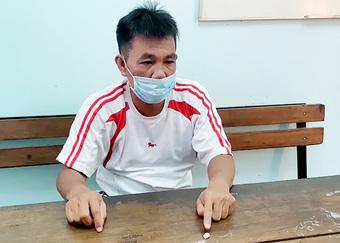 Người đàn ông mang ma túy vượt chốt kiểm soát dịch