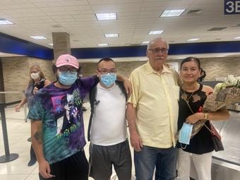 Cựu binh Mỹ đoàn tụ với con gái gốc Việt sau 50 năm