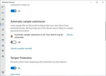 Cách ngăn Windows Defender tải tệp lên Microsoft