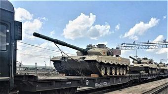 Đội tuyển Trung Quốc mang thiết bị quân sự đến Nga dự Army Games 2021