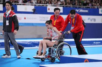 """Khoảnh khắc chấn thương của nữ thần TDDC Trung Quốc bất ngờ """"gây sốt"""" và kết cục đáng tự hào ở Olympic Tokyo 2020"""