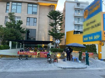 Quyết định phong tỏa y tế tạm thời tòa nhà chung cư D'.El Dorado Tân Hoàng Minh