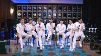 """Nhóm nhạc BTS tiếp tục lập kỷ lục với ca khúc """"Butter"""""""