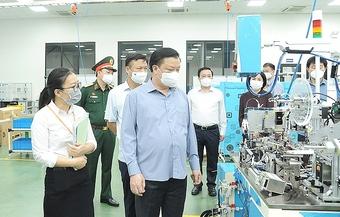 Thành ủy Hà Nội chỉ đạo 12 giải pháp phòng, chống dịch Covid-19