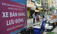 Tín hiệu tích cực trên phòng tuyến thương mại ở TP Hồ Chí Minh