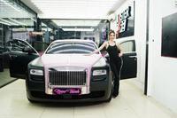Cận cảnh chiếc siêu xe Rolls-Royce của Ngọc Trinh đang được so sánh khi na ná ''xế cưng'' của LiLy Chen
