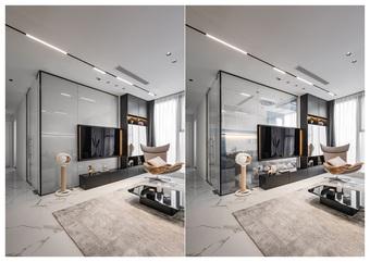 Nội thất 3 tông trong căn hộ phong cách nghỉ dưỡng của cặp vợ chồng trẻ