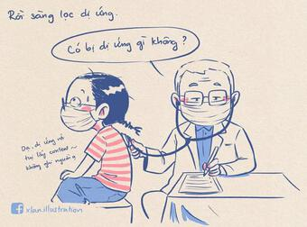 Bạn trẻ Hà Nội ghi nhật ký đi tiêm vắc xin siêu dễ thương