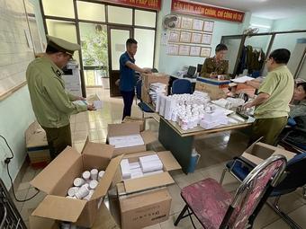 Thu giữ gần 300.000 sản phẩm thuốc Hàn Quốc không có hóa đơn