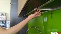 Tự lắp đèn LED tủ bếp để khắc phục đứng bếp bị tối và sấp bóng: cải thiện ánh sáng với chi phí thấp nhưng kết quả thì cực mỹ mãn!