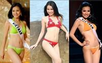 4 Hoa hậu Hoàn vũ Việt Nam thời còn thi thố, diện bikini body ai ''đỉnh'' nhất?