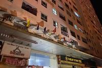 Bé gái rơi từ tầng 12 chung cư HH4C Linh Đàm xuống đất tử vong