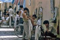 Nghề cắt tóc xưa ở Hà Nội