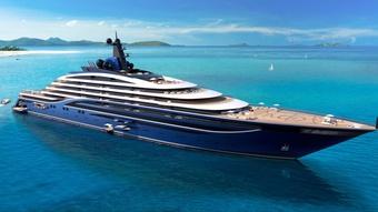 Chung cư trên biển dành cho giới siêu giàu