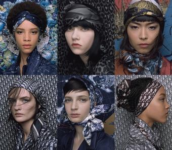 Đắm mình vào những xúc cảm lãng mạn trong thế giới khăn lụa của Dior
