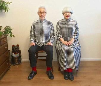 Cặp đôi vàng trong làng mặc đồ đôi: 41 năm vẫn yêu nhau như thuở nào