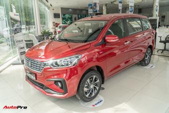 Suzuki Ertiga giảm sốc gần 70 triệu tại đại lý: Bản ''full option'' chưa đến 500 triệu, quyết cạnh tranh Mitsubishi Xpander