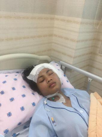 Châu Kim Sang đại phẫu thành công: Thương cảm cho cô gái đã mạnh mẽ đối chọi với bệnh tật