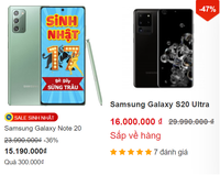 Điện thoại hạng sang giảm giá xuống thấp kỷ lục