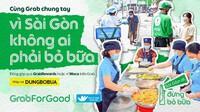 Grab Việt Nam mang bữa ăn miễn phí đến với người khó khăn trong dịch Covid-19