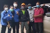Tài xế tốt bụng giúp đỡ người định đi bộ 400 km từ Bình Thuận về Phú Yên