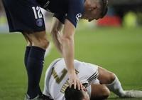 """Perez: """"Cậu vừa khiến Hazard chấn thương và giờ cậu nói vui khi gặp tôi?"""""""