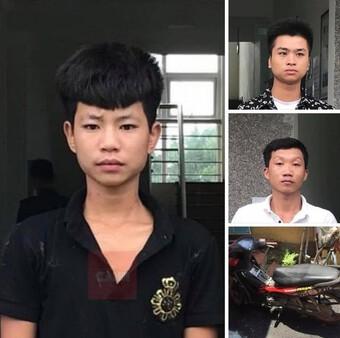 Kiểm tra ba thanh niên đi bộ trong đêm, lộ hành vi phạm pháp
