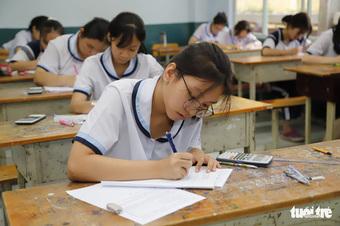 Sở GD-ĐT TP.HCM yêu cầu bổ sung dữ liệu điểm, chuẩn bị xét tuyển vào lớp 10