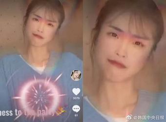 """""""Chị em sinh đôi"""" của IU ở Trung Quốc gây shock khi lộ nhan sắc thật, tìm được miếng giống nhau nào xỉu liền"""