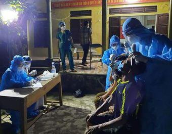 Nghệ An ghi nhận 4 trường hợp mới dương tính với SARS-CoV-2