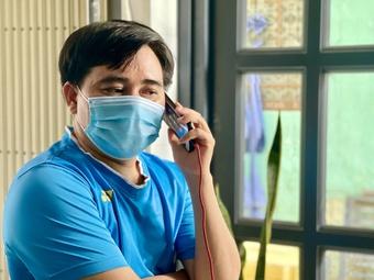 Ngập tràn yêu thương gửi ông bố ra đường sau 18 giờ chở bình oxy cứu con