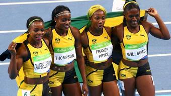 """Lịch thi đấu Olympic 6/8: 8 chung kết điền kinh, 4 """"cơn lốc"""" Jamaica chạy 4x100m"""