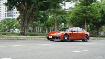 Đánh giá Porsche Panamera 2021: Nâng cấp nhẹ, thiết kế không đổi
