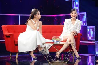 Diễm Trang chuyên gia tư vấn hôn nhân cho Á hậu Thúy An