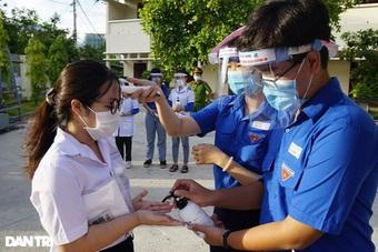 Bình Định: Test nhanh SARS-CoV-2 toàn bộ thí sinh thi tốt nghiệp THPT đợt 2