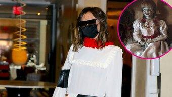 Victoria Beckham bị chê về ăn mặc xấu như ''búp bê ma''