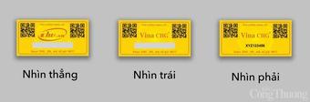Công ty Vina CHG sản xuất tem chống hàng giả công nghệ số Hologram 3D+