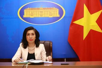 Yêu cầu Trung Quốc chấm dứt, không tái diễn việc tập trận tại Hoàng Sa