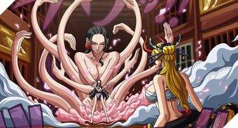 Spoil đầy đủ One Piece chap 1021: Robin hóa thành ác quỷ khổng lồ có sừng và răng nanh đánh bại Black Maria