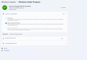 Microsoft chính thức tung ra bản beta đầu tiên của Windows 11