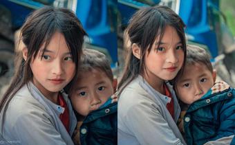 """Bé gái Hà Giang """"gây sốt"""" cộng đồng mạng vì vẻ xinh đẹp mộc mạc"""