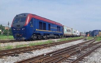 Đoàn tàu container từ Việt Nam sang Bỉ: Mở hợp tác logistics đường sắt