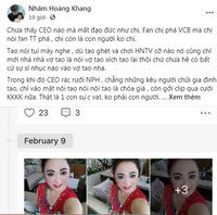 Nhâm Hoàng Khang tung loạt tin nhắn riêng tư với bà Phương Hằng: Nữ CEO mua vest tặng gymer Duy Nguyễn, bị dặn 'coi chừng giống ông Yên'
