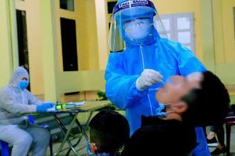 Phát hiện 1 người từ Campuchia nhập cảnh trái phép về Quảng Ninh nhiễm SARS-CoV-2